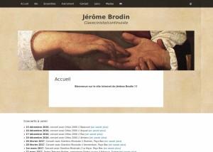 site jeromebrodin.com